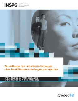 Surveillance des maladies infectieuses chez les utilisateurs de drogues par injection – Épidémiologie du VIH de 1995 à 2014 – Épidémiologie du VHC de 2003 à 2014