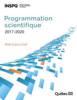 Programmation scientifique 2017-2020 : mise à jour 2018