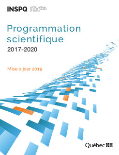 Programmation scientifique 2017-2020 : mise à jour 2019