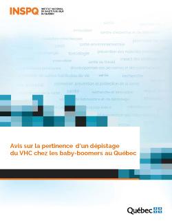 Avis sur la pertinence d'un dépistage du VHC chez les baby-boomers au Québec