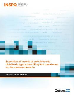 Exposition à l'arsenic et prévalence du diabète de type 2 dans l'Enquête canadienne sur les mesures de santé
