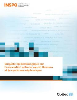 Enquête épidémiologique sur l'association entre le vaccin Bexsero et le syndrome néphrotique