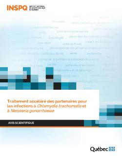 Traitement accéléré des partenaires pour  les infections à Chlamydia trachomatis et à Neisseria gonorrhoeae