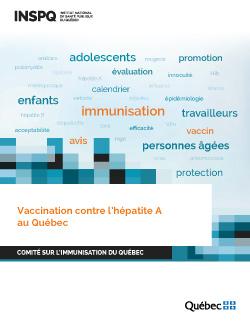 Vaccination contre l'hépatite A au Québec
