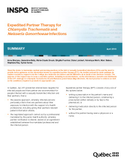 Expedited Partner Therapy for Chlamydia Trachomatis and Neisseria Gonorrhoeae Infections