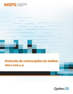 Protocole de contraception du Québec : mise à jour 2018