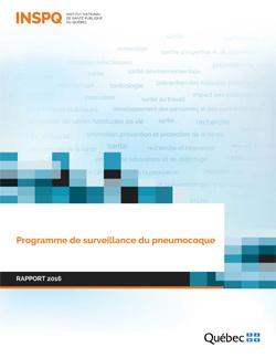 Programme de surveillance du pneumocoque : rapport 2016