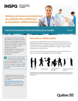 Notions de base en prévention et contrôle des infections : précautions additionnelles