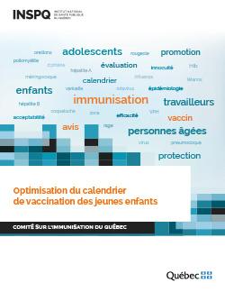 Nouveau Calendrier Vaccinal 2019.Optimisation Du Calendrier De Vaccination Des Jeunes Enfants