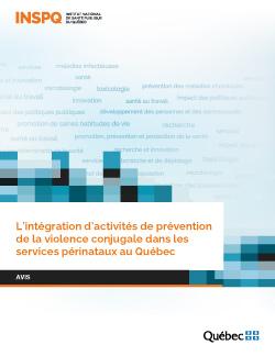 L'intégration d'activités de prévention de la violence conjugale dans les services périnataux au Québec
