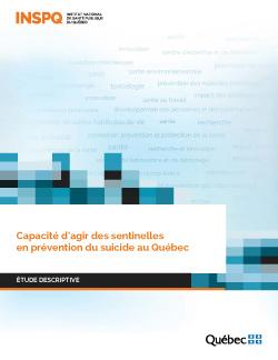 Capacité d'agir des sentinelles en prévention du suicide au Québec