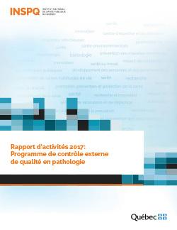 Rapport d'activités 2017: Programme de contrôle externe de qualité en pathologie