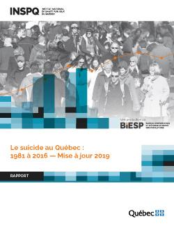 Le suicide au Québec : 1981 à 2016 — Mise à jour 2019