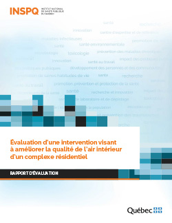 Évaluation d'une intervention visant à améliorer la qualité de l'air intérieur d'un complexe résidentiel