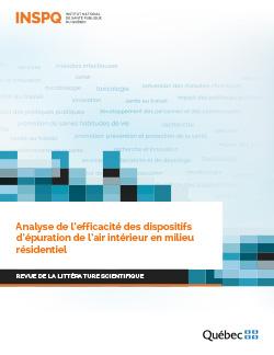 Analyse de l'efficacité des dispositifs d'épuration de l'air intérieur en milieu résidentiel