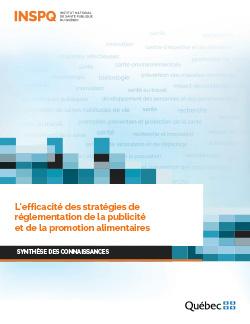L'efficacité des stratégies de réglementation de la publicité et de la promotion alimentaires