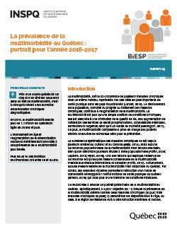 La prévalence de la multimorbidité au Québec : portrait pour l'année 2016-2017