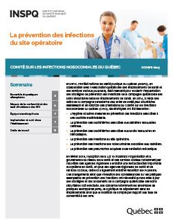 La prévention des infections  du site opératoire