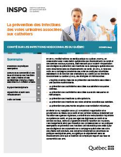 La prévention des infections des voies urinaires associées aux cathéters