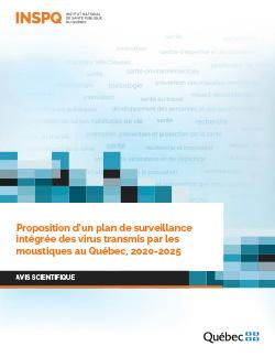 Proposition d'un plan de surveillance intégrée des virus transmis par les moustiques au Québec, 2020-2025