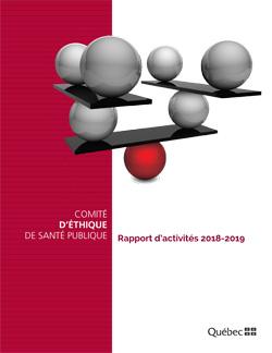 Rapport d'activités 2018-2019 du Comité d'éthique de santé publique