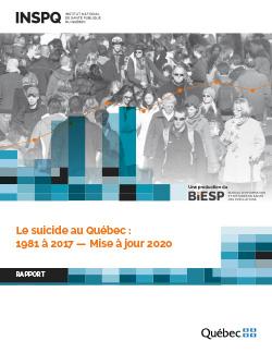 Le suicide au Québec : 1981 à 2017 — Mise à jour 2020