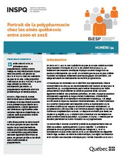 Portrait de la polypharmacie chez les aînés québécois entre 2000 et 2016