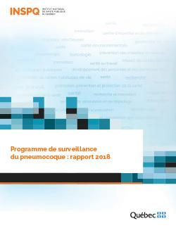 Programme de surveillance du pneumocoque : rapport 2018