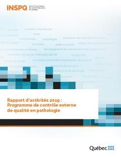 Rapport d'activités 2019 : Programme de contrôle externe de qualité en pathologie