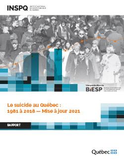 Le suicide au Québec : 1981 à 2018 — Mise à jour 2021