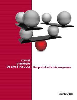 Rapport d'activités 2019-2020 du Comité d'éthique de santé publique