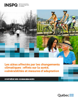Les aléas affectés par les changements climatiques : effets sur la santé, vulnérabilités et mesures d'adaptation