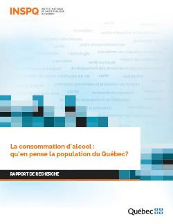 La consommation d'alcool : qu'en pense la population du Québec?