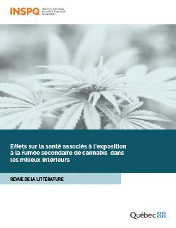 Effets sur la santé associés à l'exposition à la fumée secondaire de cannabis dans les milieux intérieurs