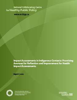 Impact Assessments in Indigenous Contexts: Promising Avenues for Reflection and Improvement for Health Impact Assessments