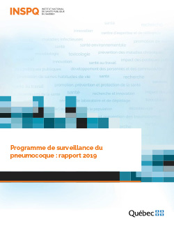 Programme de surveillance du pneumocoque : rapport 2019