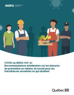 COVID-19 : Recommandations intérimaires sur les mesures  de prévention en milieux de travail pour les travailleuses enceintes ou qui allaitent