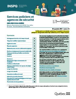 Services policiers et agences de sécurité