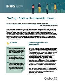COVID-19 – Pandémie et consommation d'alcool