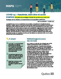 COVID-19 : Pandémie, bien-être et santé mentale
