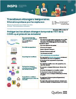 Travailleurs étrangers temporaires - Informations pratiques pour les employeurs