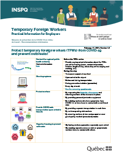 Temporary Foreign Workers - Practical Information for Employers