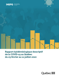 Rapport épidémiologique descriptif de la COVID-19 au Québec du 23 février au 11 juillet 2020