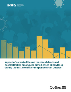 Impact of comorbidities on the risk of death and hospitalization among confirmed cases of COVID-19 during the first months of the pandemic in Québec