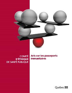 Avis sur les passeports immunitaires
