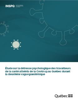 Étude sur la détresse psychologique des travailleurs de la santé atteints de la Covid-19 au Québec durant la deuxième vague pandémique