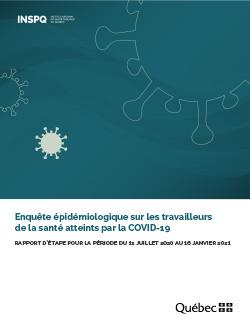 Enquête épidémiologique sur les travailleurs de la santé atteints par la COVID-19