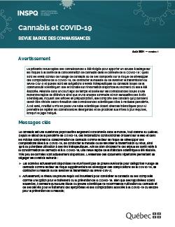 Cannabis et COVID-19