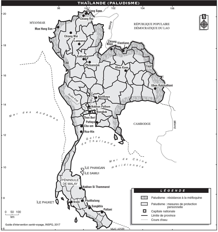 Thaïlande | Guide d'intervention santé-voyage | INSPQ